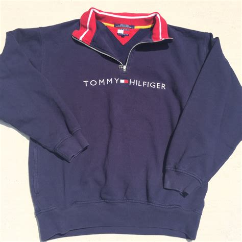 *sold Out* Vintage Tommy Hilfiger Pullover Sweatshirt On