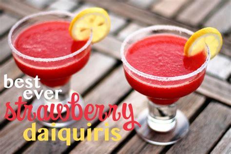 how to make a daiquiri best ever strawberry daiquiris unsophisticook