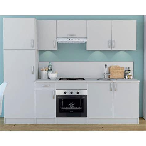 meuble de cuisine blanc colonne 2 portes dya shopping fr