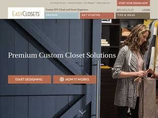 easyclosets rated  stars   consumers easyclosets
