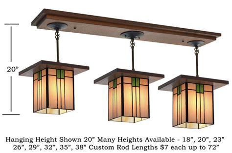 craftsman style light fixtures 507 mission studio