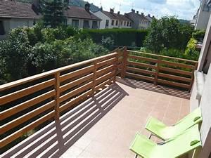 Balustrade En Bois : balustrade terrasse bois balustrade en bois pour terrasse ~ Melissatoandfro.com Idées de Décoration