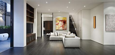 floor l in living room living room chaise lounge small modern living room with black laminate flooring tile plus white