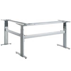 conset 501 27 electric adjustable height desk frame for existing top