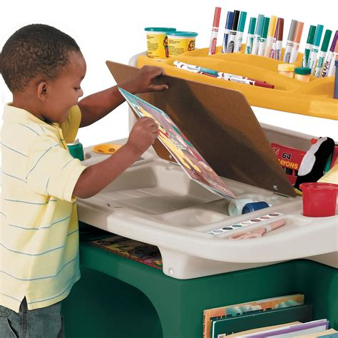 step 2 activity desk art master activity desk kids art desk step2