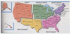 Challenger image in 5 regions of the united states ...