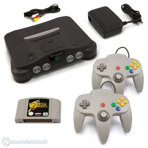 Nintendo 64 Konsole 2 Controller Super Mario Und Zelda