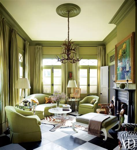 interior home color combinations how to do the best usage of the green color on a living