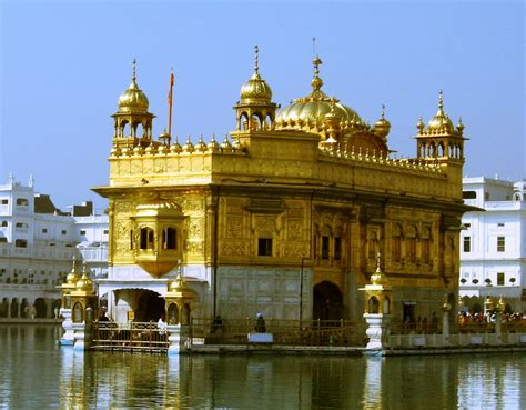 Golden Temple A Sikh Gurdwara In Amritsar Punjab India