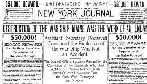 back in the 1890s fake news helped start a war public