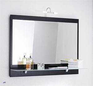 Spiegel Bad Mit Ablage : badspiegel inkl licht ablage 90x68x22 wandspiegel ~ Michelbontemps.com Haus und Dekorationen