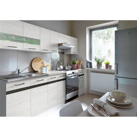 cuisine avec led junona cuisine complète 2m40 avec éclairage led décor