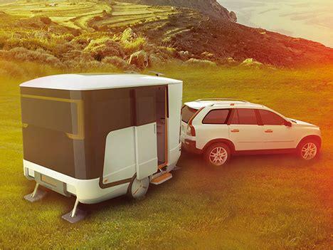 Caravan Concept Brings Modern Sleekness To Rv Travel