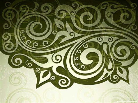 abstract floral swirl batik background minimalist