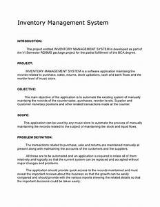 academic project inventory management system synopsis With inventory management system project documentation