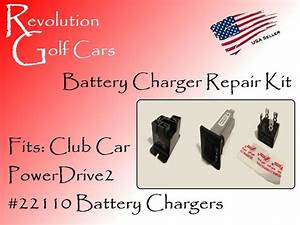 Battery Charger Repair Kit  Fits  Club Car 48 Volt  Powerdrive2  22110