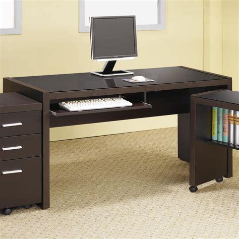 writing desk computer table coaster skylar computer desk with keyboard drawer value