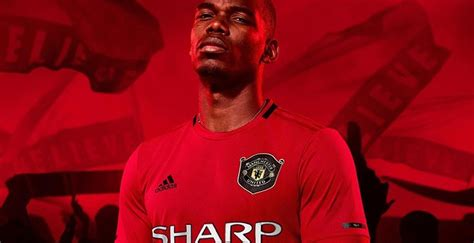 adidas manchester united home kit classic sponsor