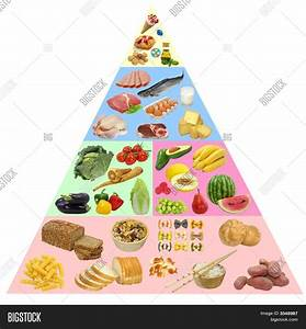 Food Pyramid Image  U0026 Photo  Free Trial