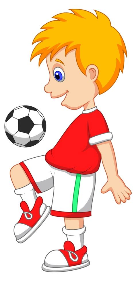 playing cartoon cartoon football player pictures cliparts co