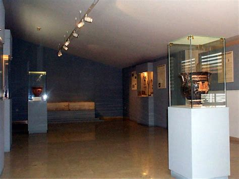 flooring exhibits museums of macedonia greece archaeological museum