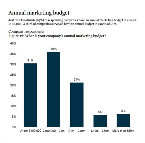 marketing budget samples  google docs google
