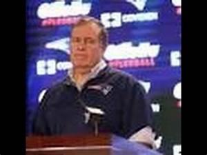 Bill Belichick throws Tom Brady under the bus - YouTube