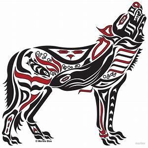 The Melody - Original Haida, Tlingit Wolf, Native American ...