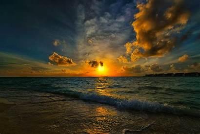 Sun Morning Sea Wallpapers Wallpaperup Waves Cristianos