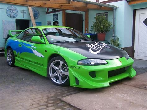 Green Mitsubishi Eclipse by Mitsubishi Eclipse Review And Photos