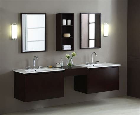 Blox 68 Inch Moduler Bathroom Vanity Cabinets Set, Unique