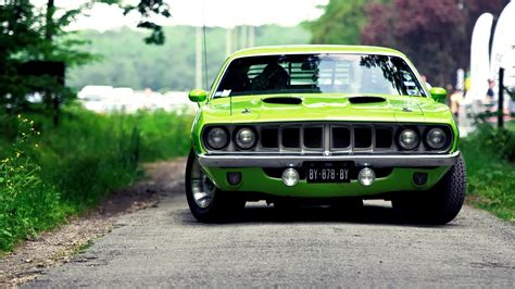 Green, Muscle Cars, Car Wallpapers Hd / Desktop And Mobile