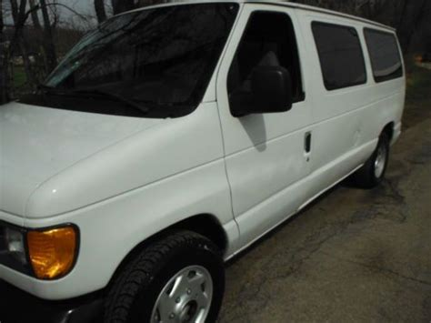 auto air conditioning repair 2004 ford e150 auto manual buy used 2004 ford econoline e150 passenger van 6 doors 4 6liter 8 cyl w airconditioning in