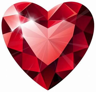 Clipart Jewel Diamond Simple Transparent Heart Clip