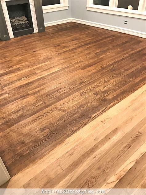 the oak flooring company stained red oak hardwood floors thefloors co
