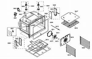 Thermador Built Microwave Microwave Cabinet Parts