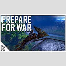 """Preparing For War!  Ark Survival Evolved """"the Volcano"""