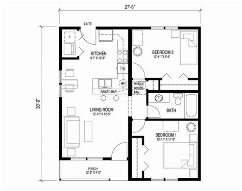 Floor Plan 3 Bedroom 2 Bath New 4 Story House Plans 4