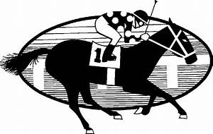 Horse Racing Clipart - Clipart Suggest