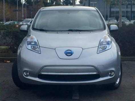 Fully Electric Cars For Sale by 2011 Nissan Leaf Sl Electric For Sale Fully Loaded Santa