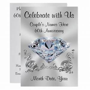 60th wedding anniversary invitations announcements With diamond wedding invitation cards uk