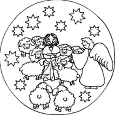 weihnachtsmandalas fuer kinder  der weihnachtsseite fuer