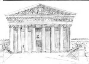 Supreme Court Building Sketch