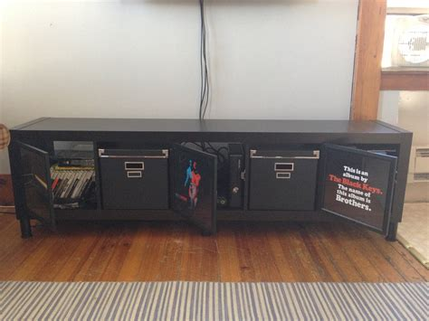 expedit tv stand for the ikea hackers ikea hackers