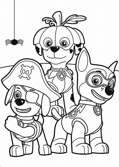 Coloring Pages Patrol Paw