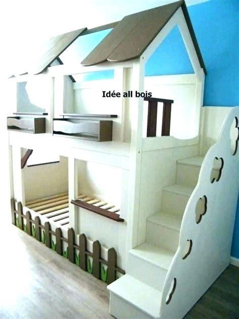 fabriquer lit mezzanine avec bureau comment design solution  comment fabriquer lit mezzanine
