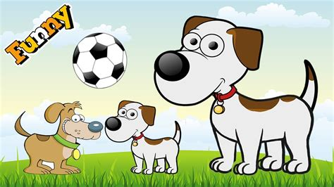 Funny Dogs Cartoons For Children