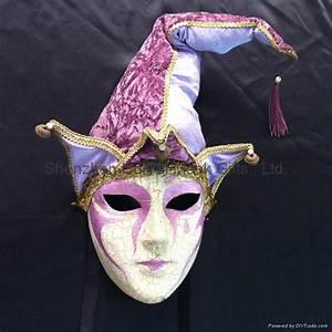 Full Face Venice Carnival Mask Clown Mask Joker Mask Many ...