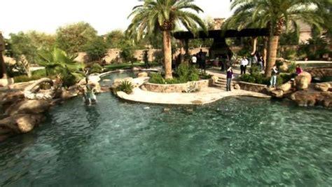 million dollar backyard luxury swimming pool video hgtv