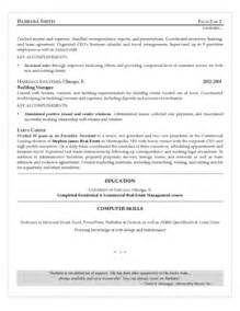 second page of resume header exle resume sles resume 555